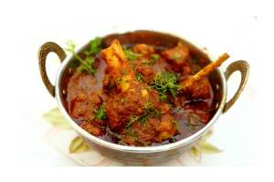 Amaravathi Goat Curry