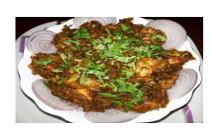 Gongura Chicken (Chef's Special)