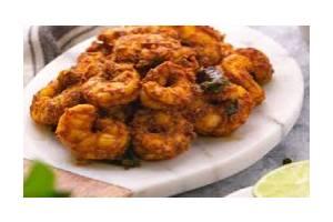 Shrimp Pepper Fry Curry