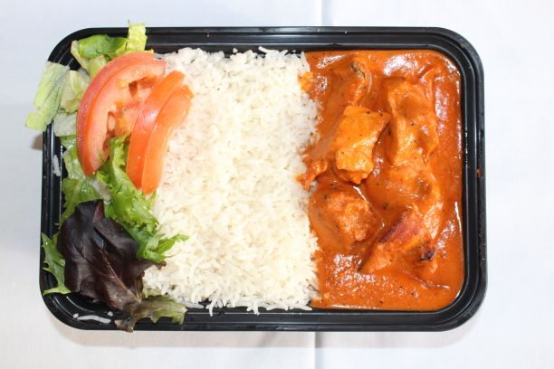 Chicken tikka masala w/ basmati rice