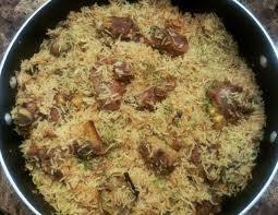 Mutton Fry Pulao Weekend Special