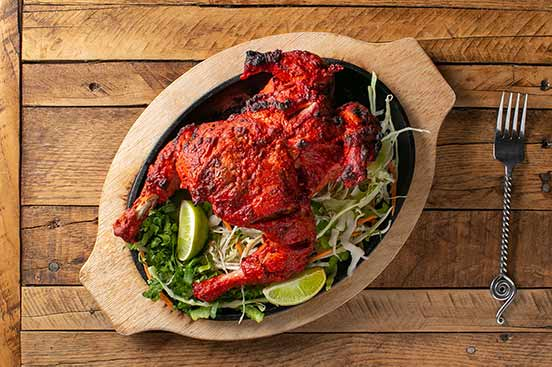 Full Tandoori Chicken (New) - Takes 30 to 45 mins to prepare