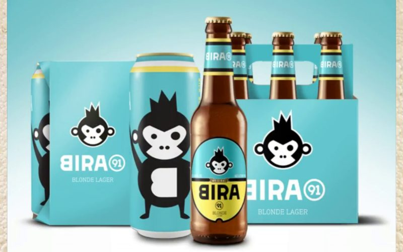 Bira 91 Blonde Lager - 4 Pack 16 oz cans