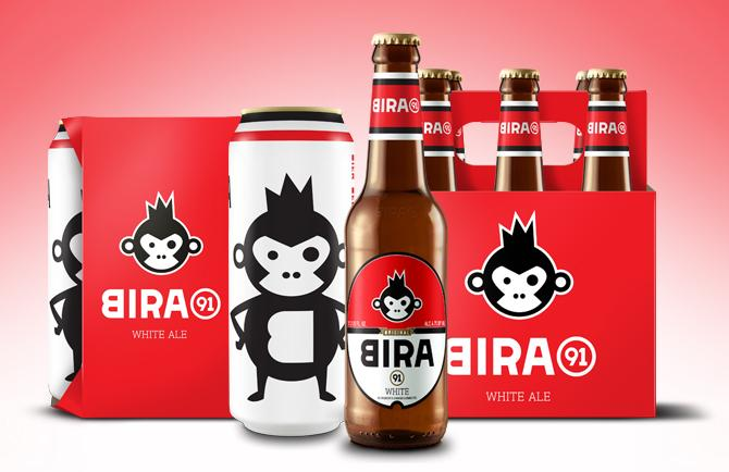 Bira 91 White Ale - 6 pack 12 oz Btl