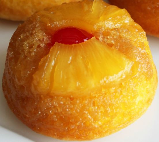 Pineapple Upside Down CUP CAKE