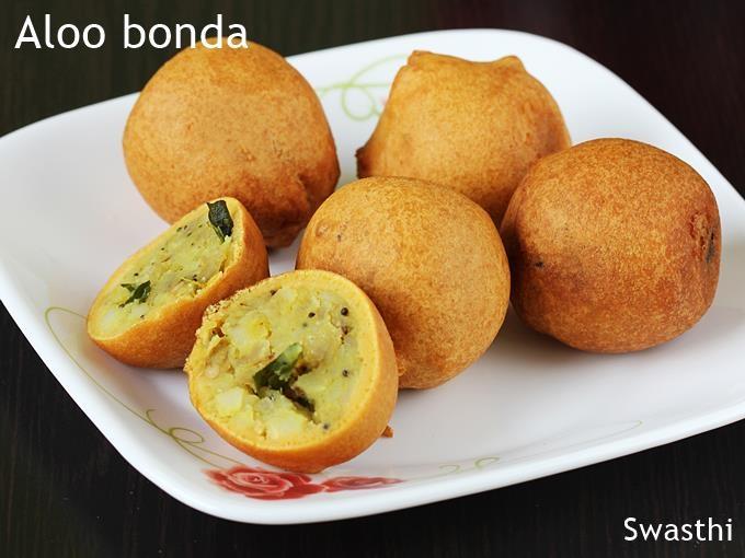 Aloo Bonda (Potato Vada) (4 pcs)