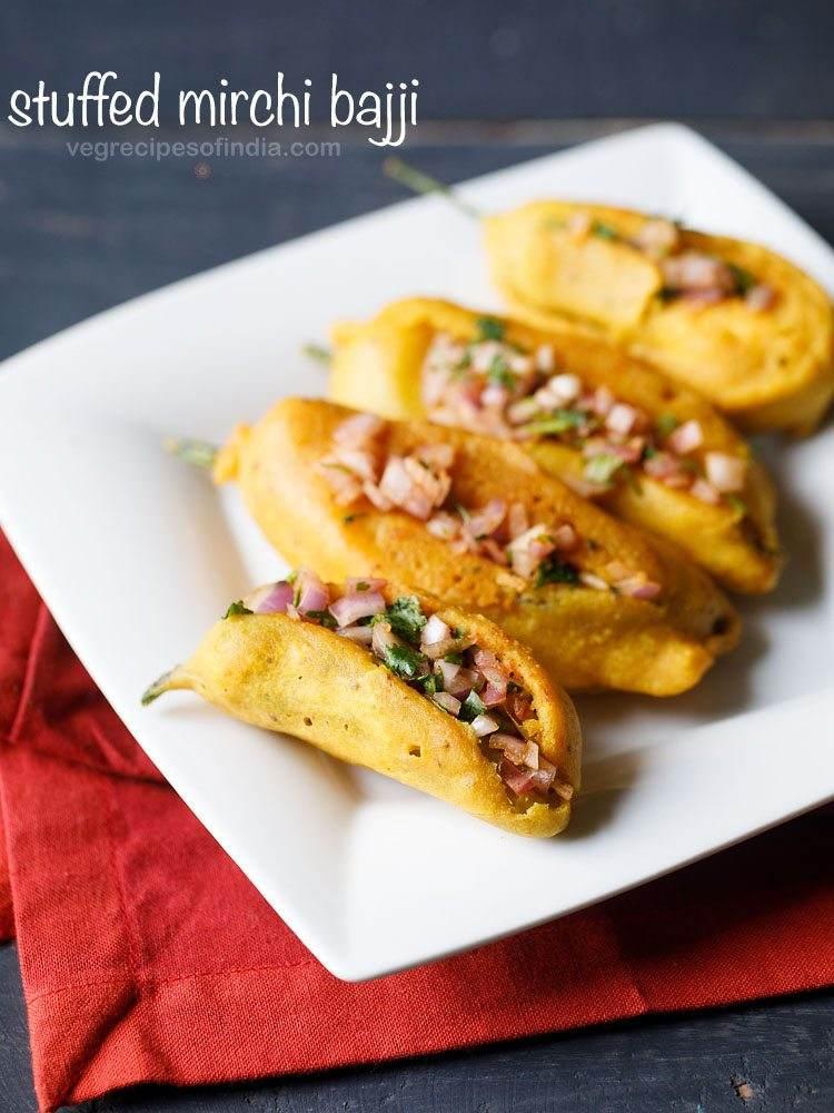 Onion Mirchi Bajji (2 Pcs)