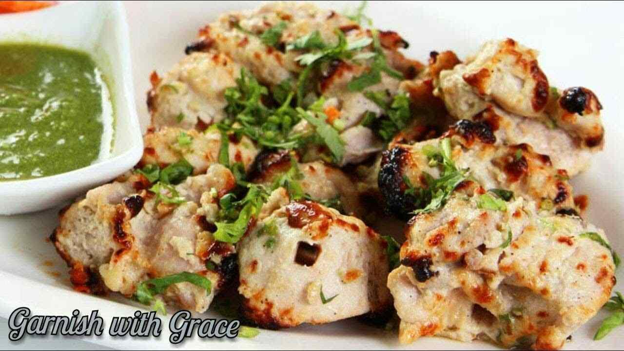 Malai Tikka Kebab