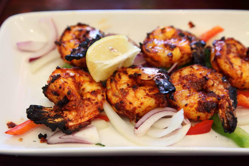 Tandoori Shrimp Ajwain