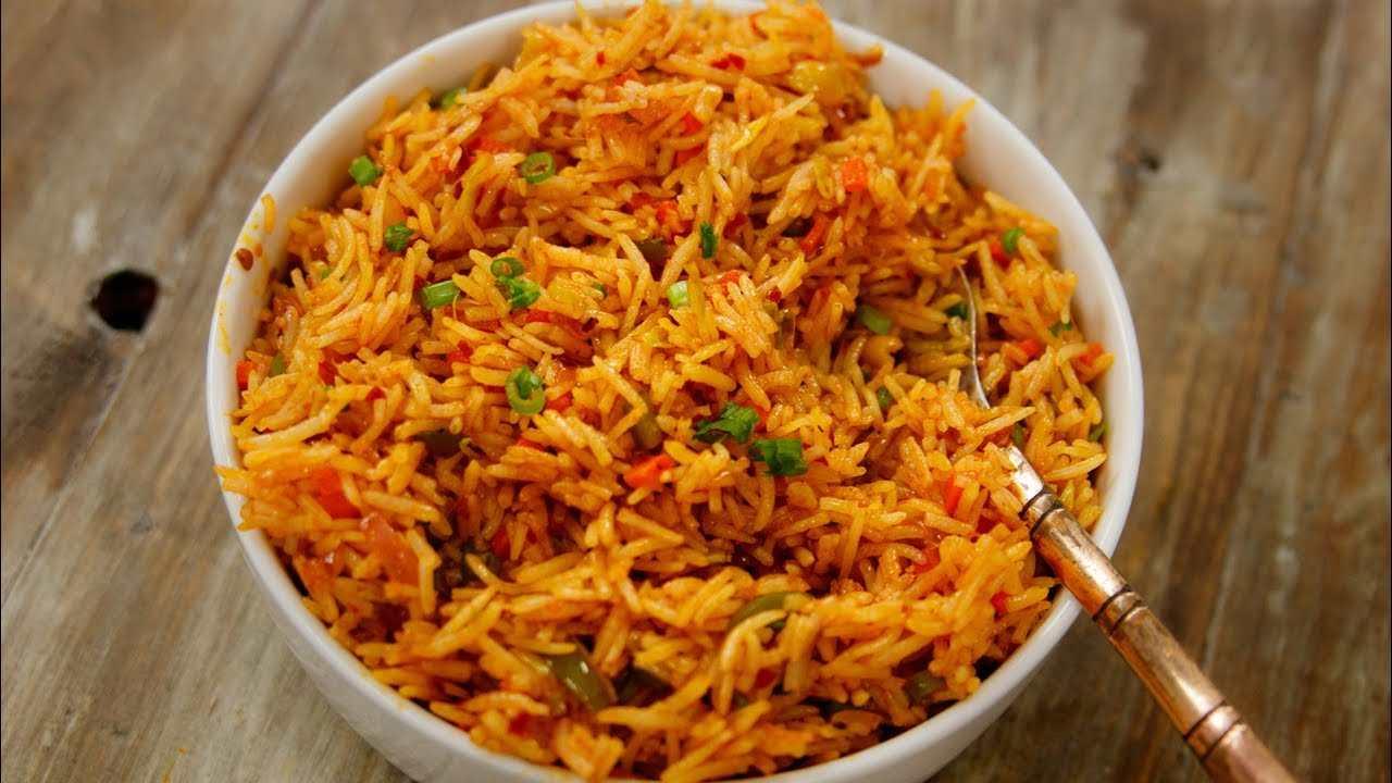 Veg Szechwan Fried Rice