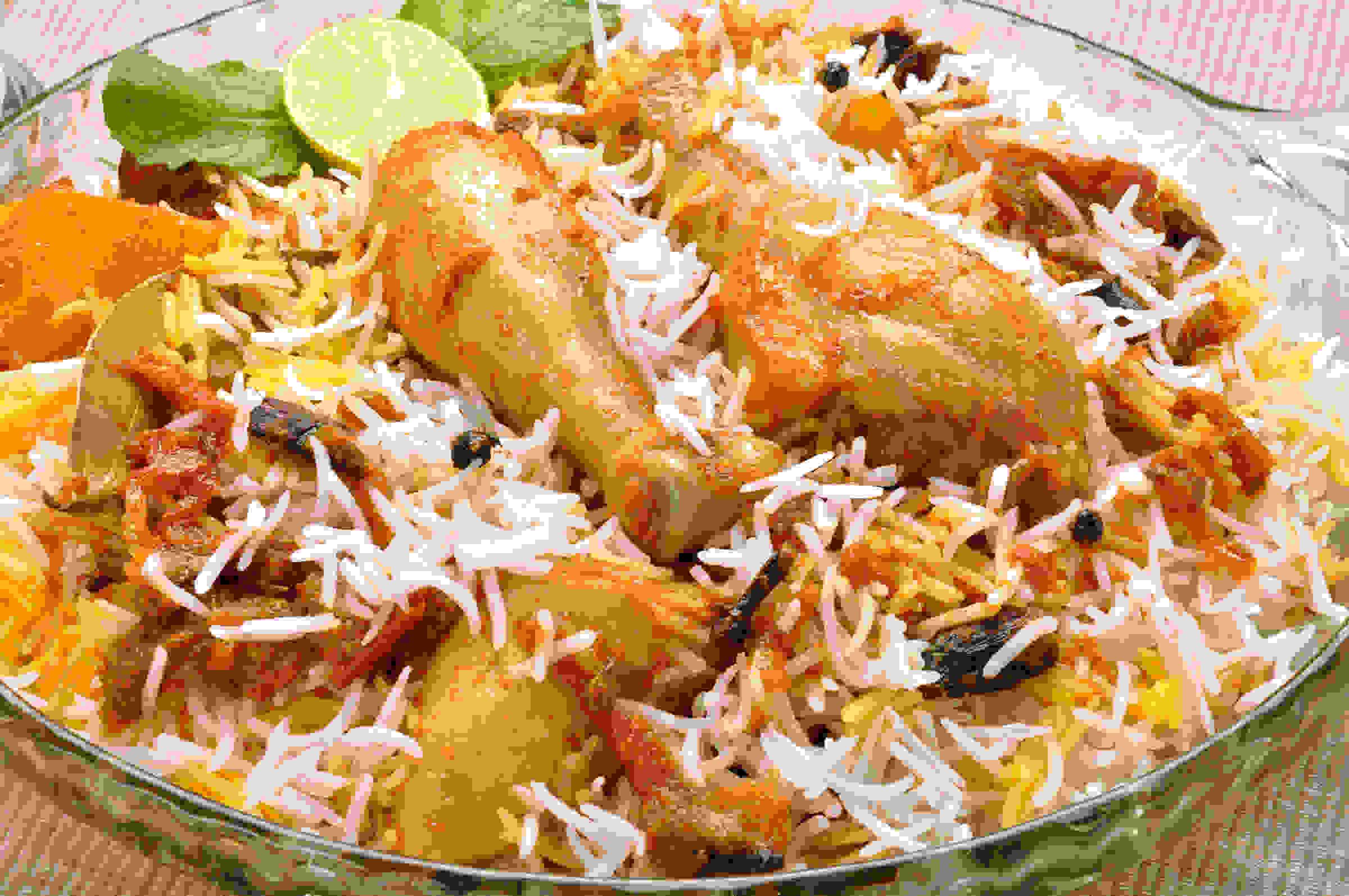 Chicken Dum Biryani (Single)