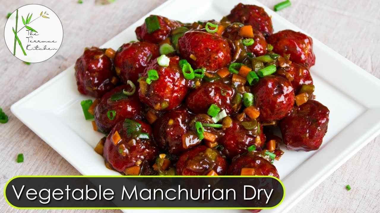 Veg Manchurian (Dry)