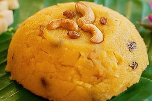 Pineapple Kesari (Sweet)