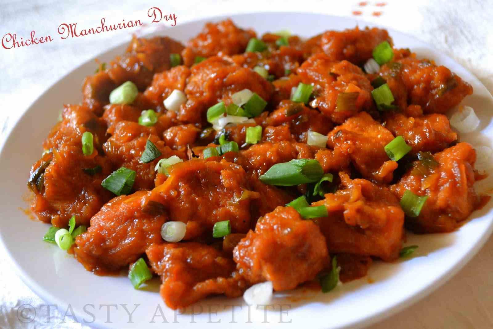 Chicken Manchurian (Dry)