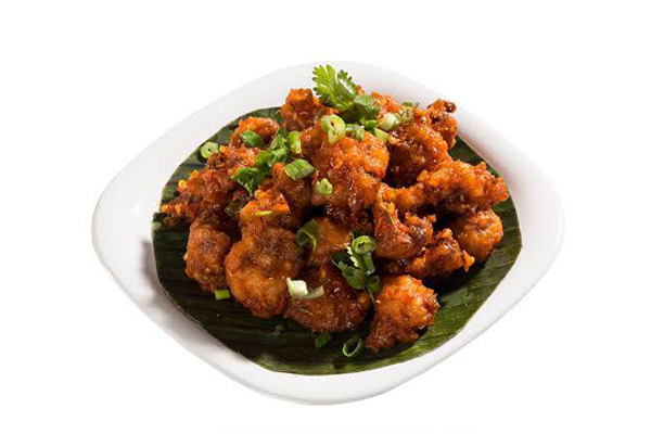 Karivepaku Gobi (Curry Leaves)