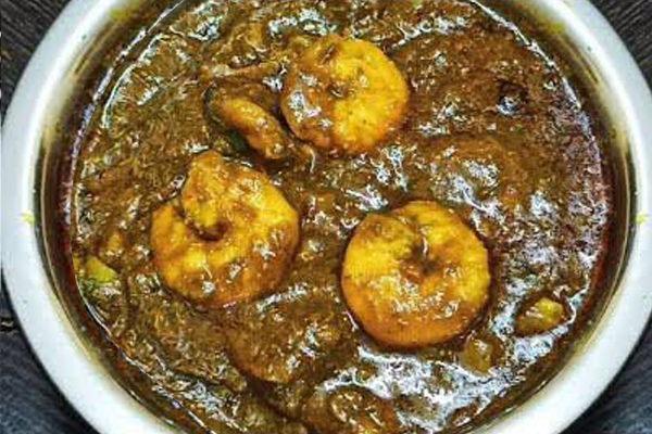Gongura Shrimp Curry