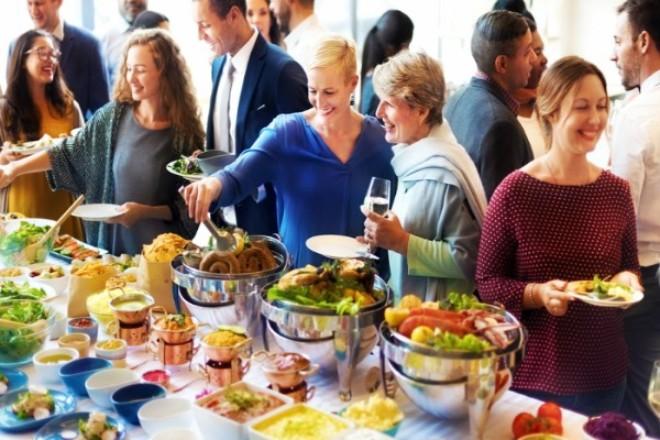 Adult weekend lunch buffet