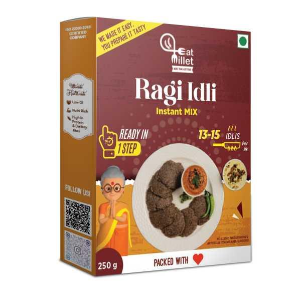 Instant Ragi Idli Mix
