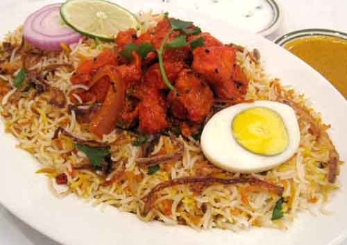 Spl Chicken Biryani (Weekend only)