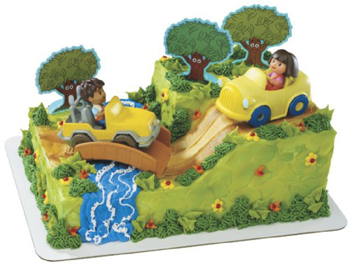 Dora Explorer & Diego Safari Party - 11614