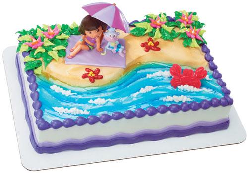 Dora Explorer Beach Fun - 14780