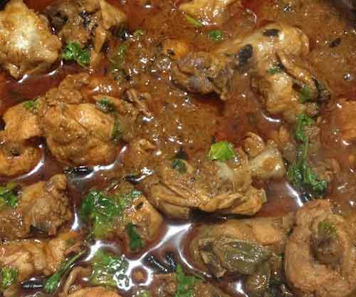Andhra Chicken Curry - Saturday & Sunday
