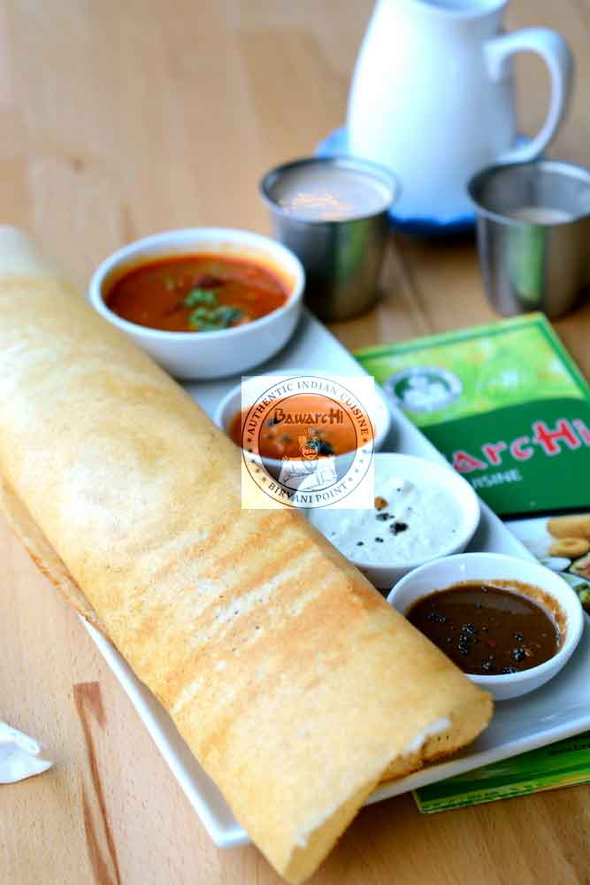 Masala Dosa and Idli Combo