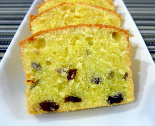Date & Walnut Pound Cake