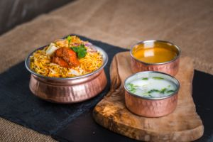 Vijayawada SPL Chicken Biryani (Boneless) (Single)