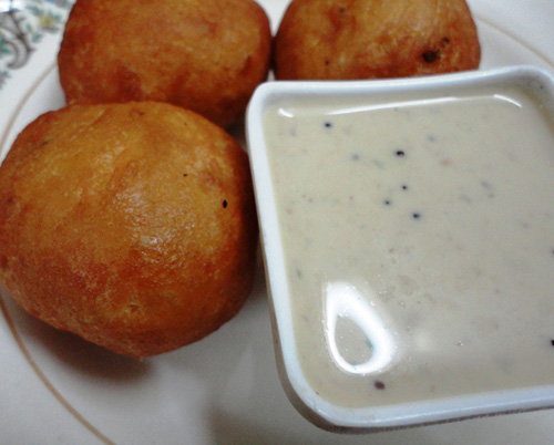 Mysore Bonda (weekend only)