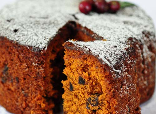 Fruit and Plum Cake Eggless
