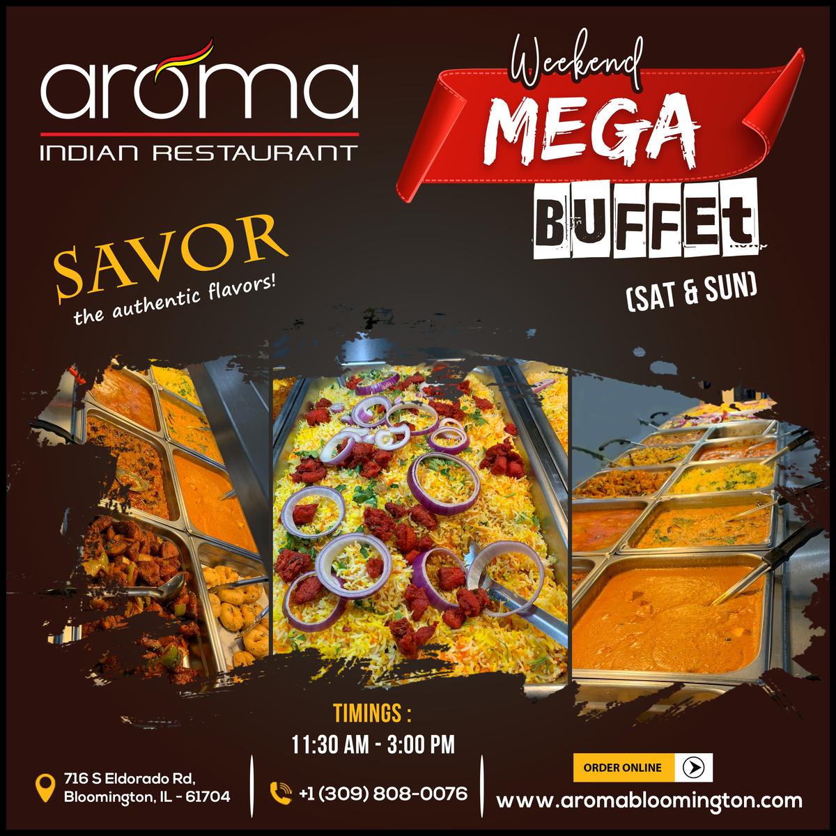 Weekend Special Mega Buffet