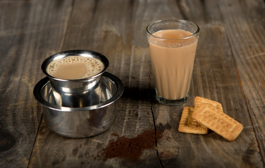 Chai With Parle-G Biscuits
