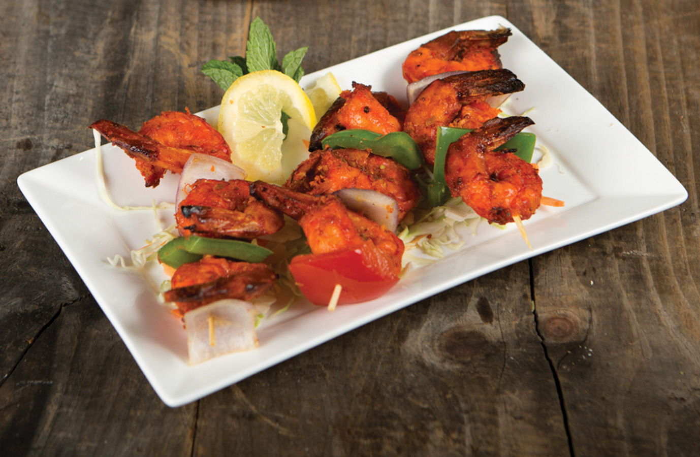 Pickled Tandoori Shrimp