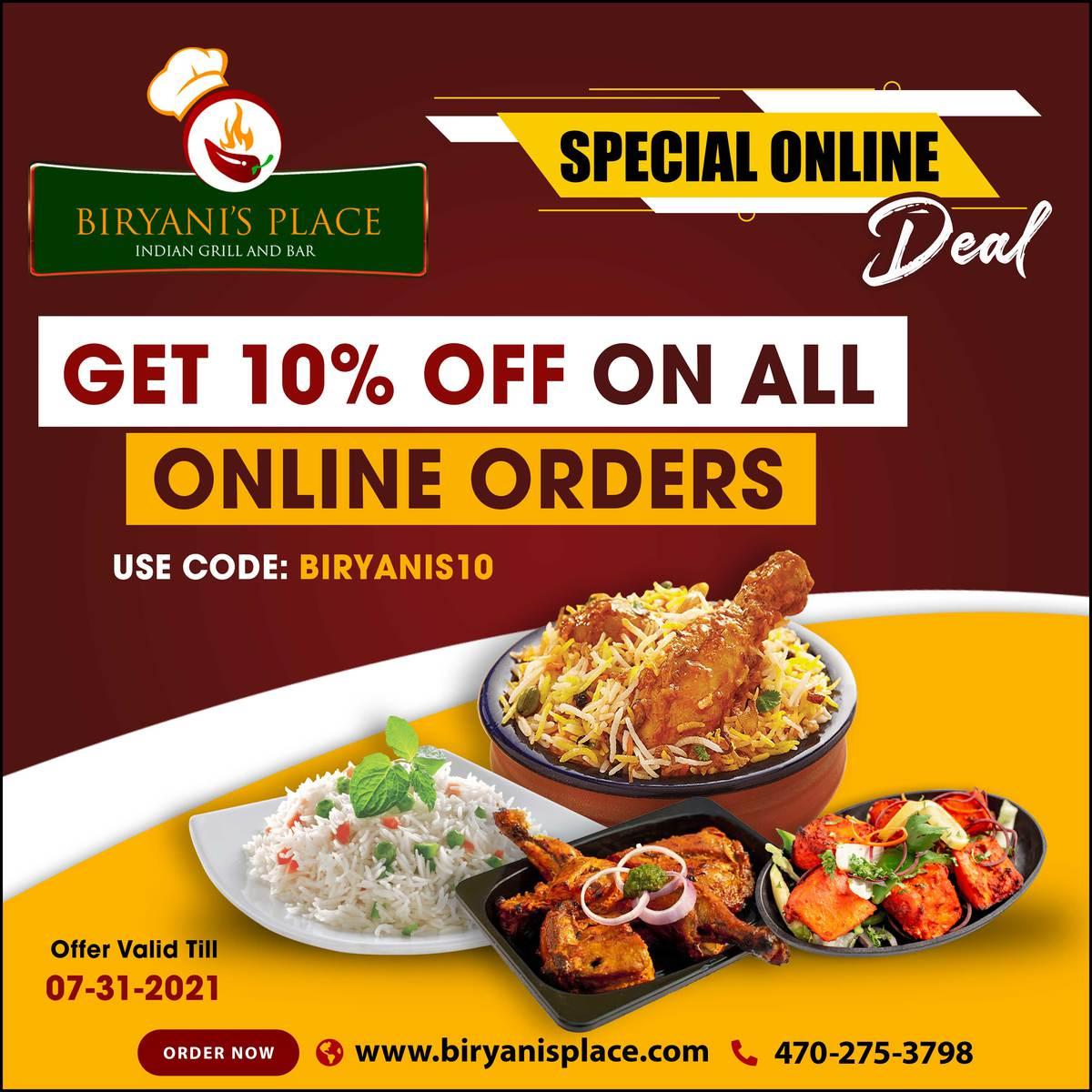 Special Online Deal