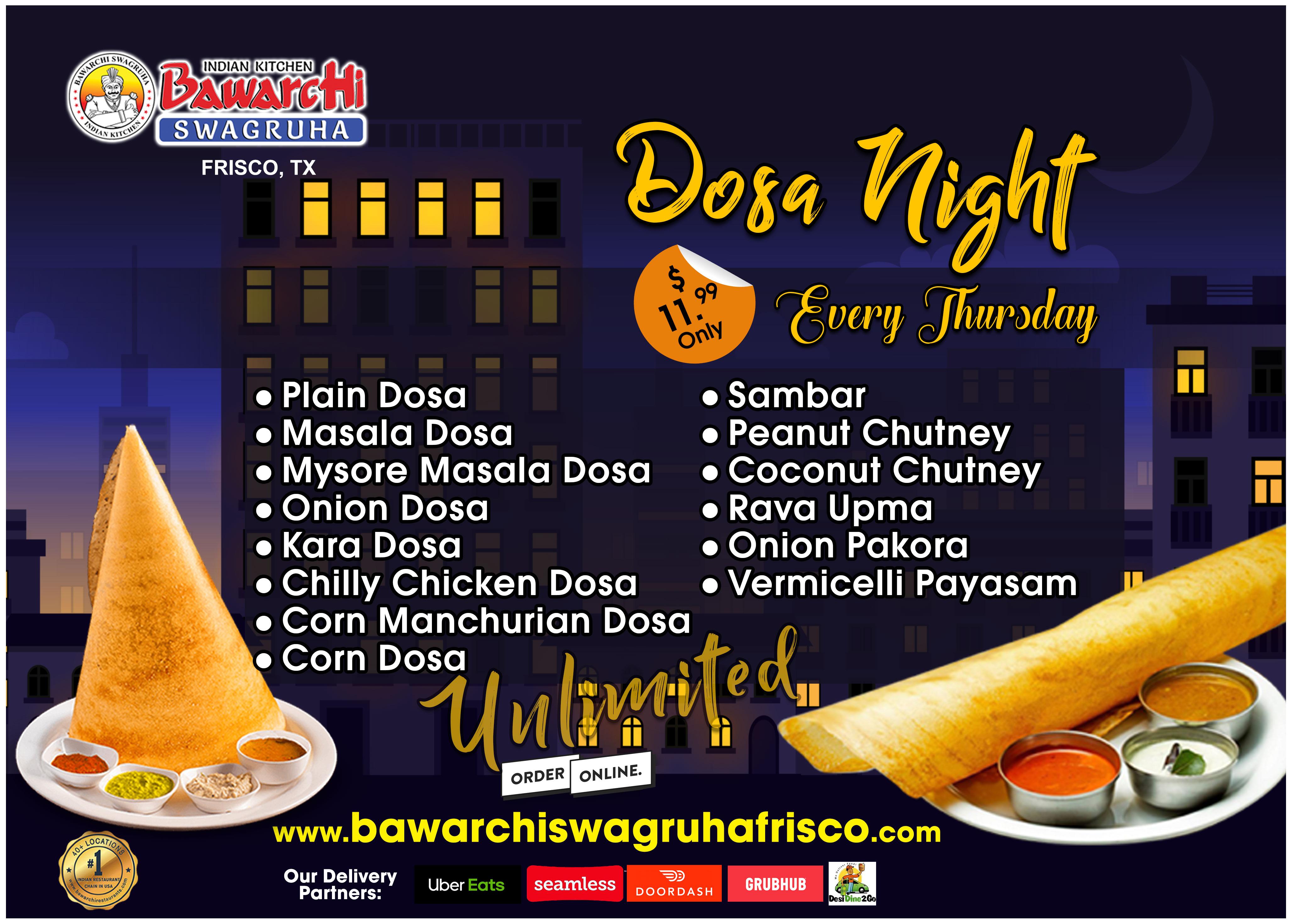 Dosa Night
