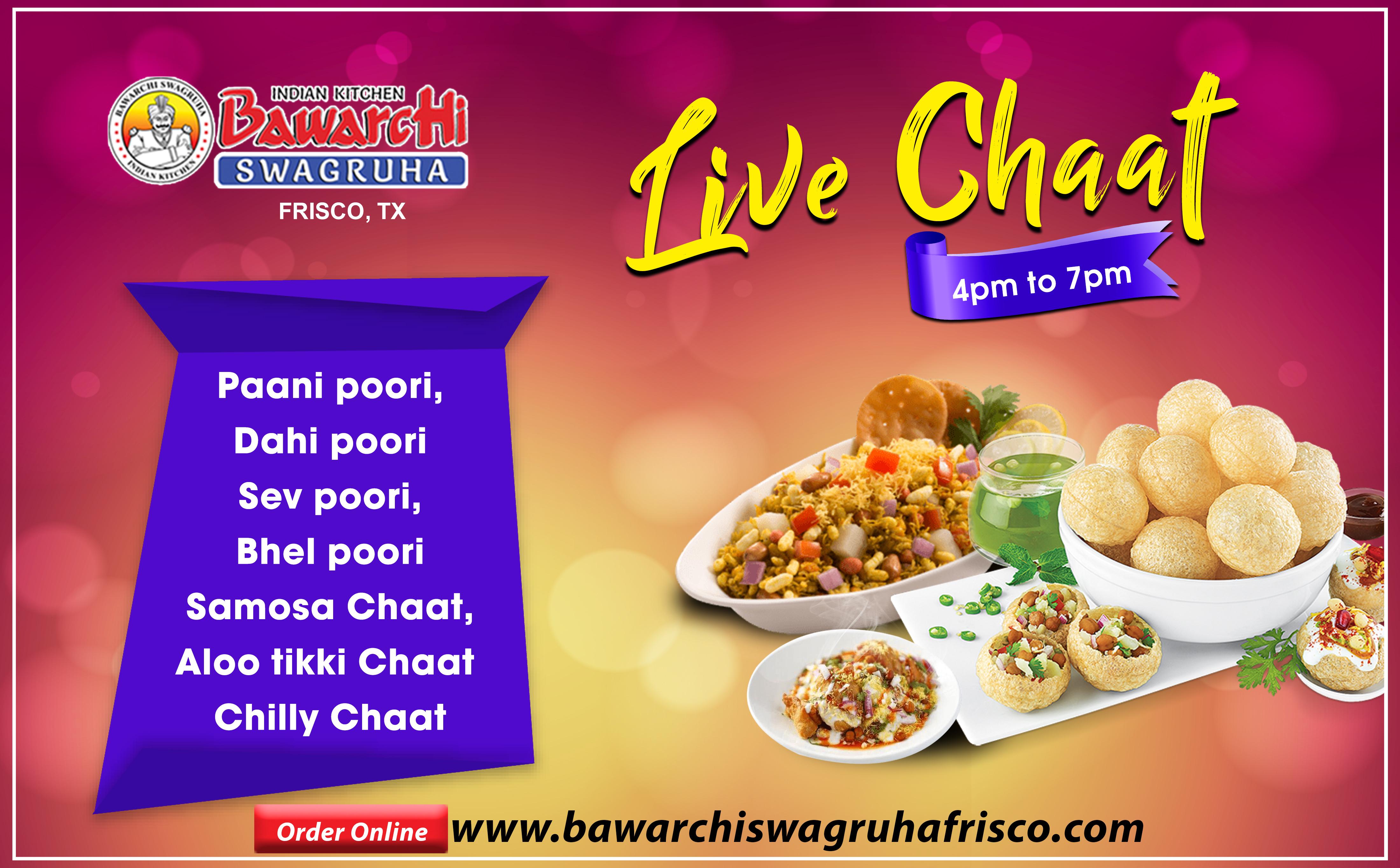 Live Chaat