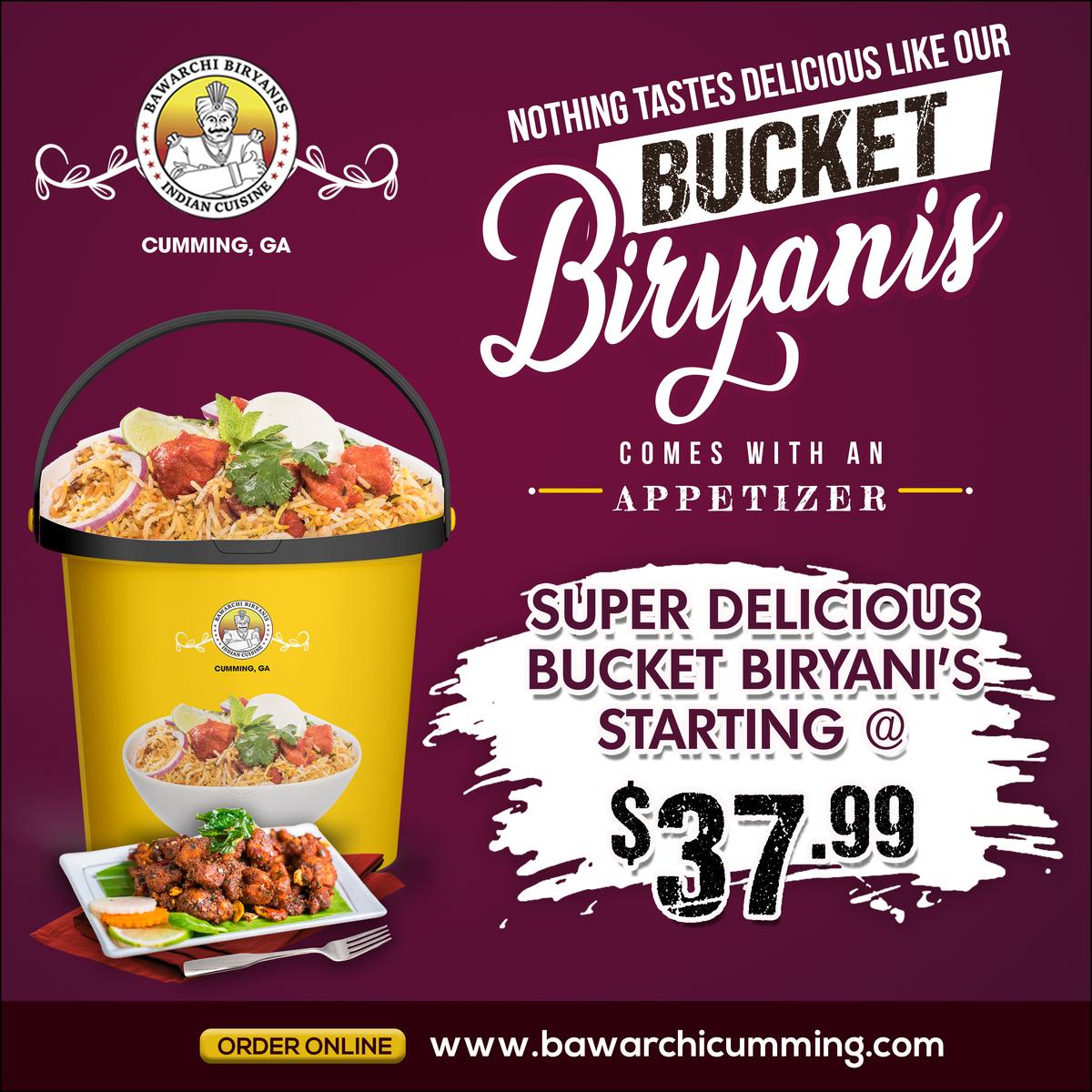 Bucket Biryani