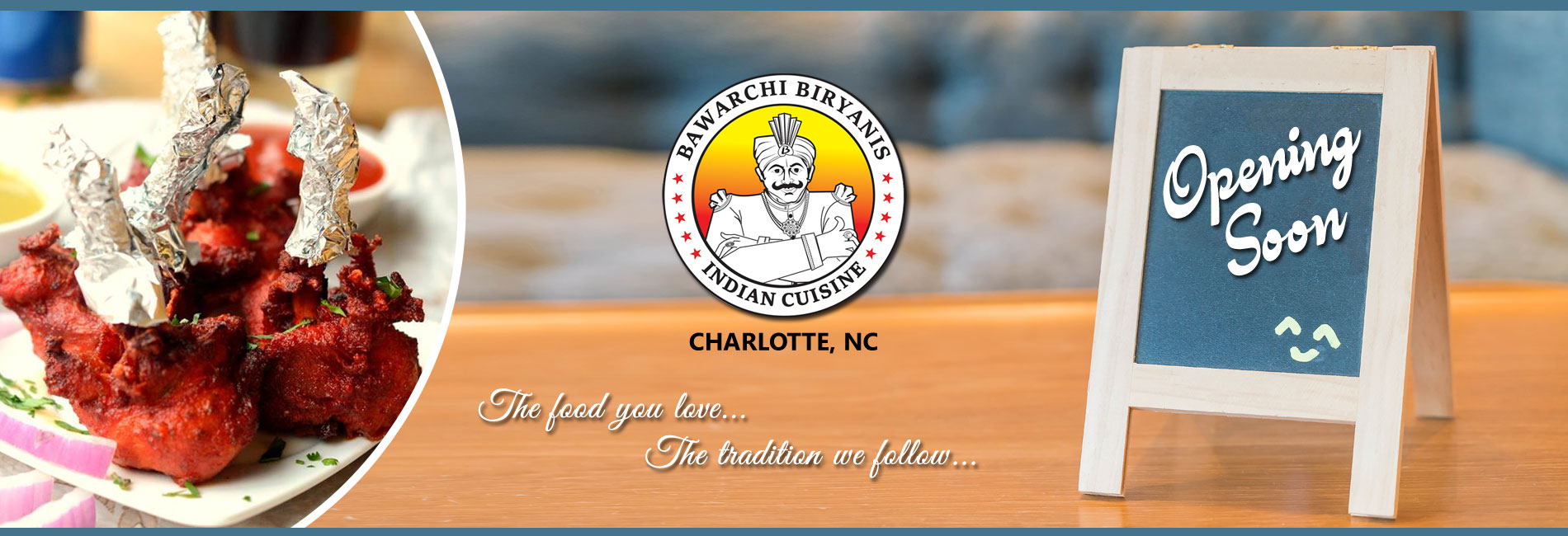 Bawarchi Charlotte, NC - Opening Soon