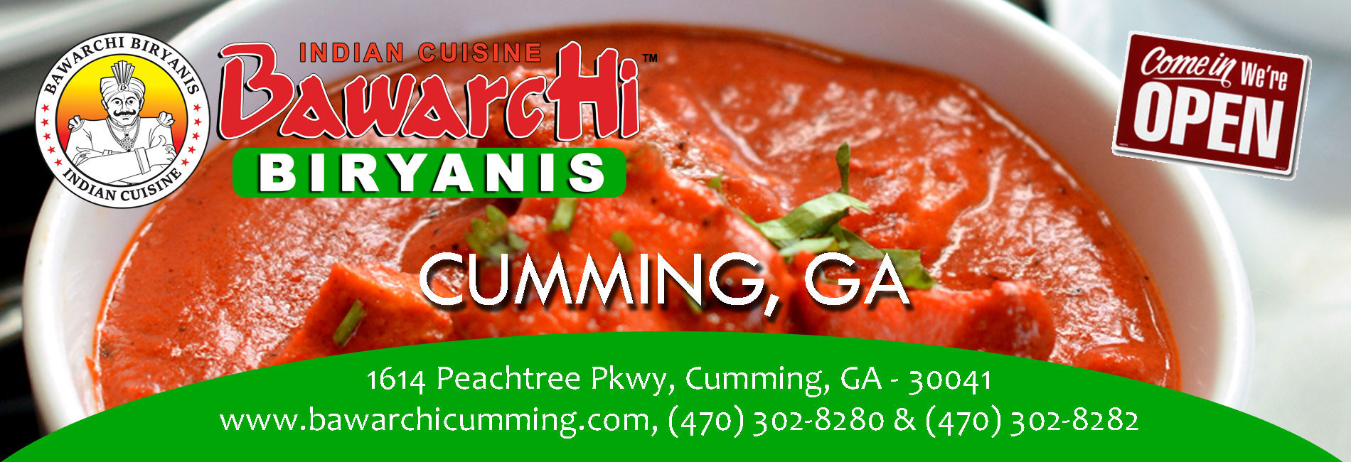 Bawarchi Cumming, GA - Now Open