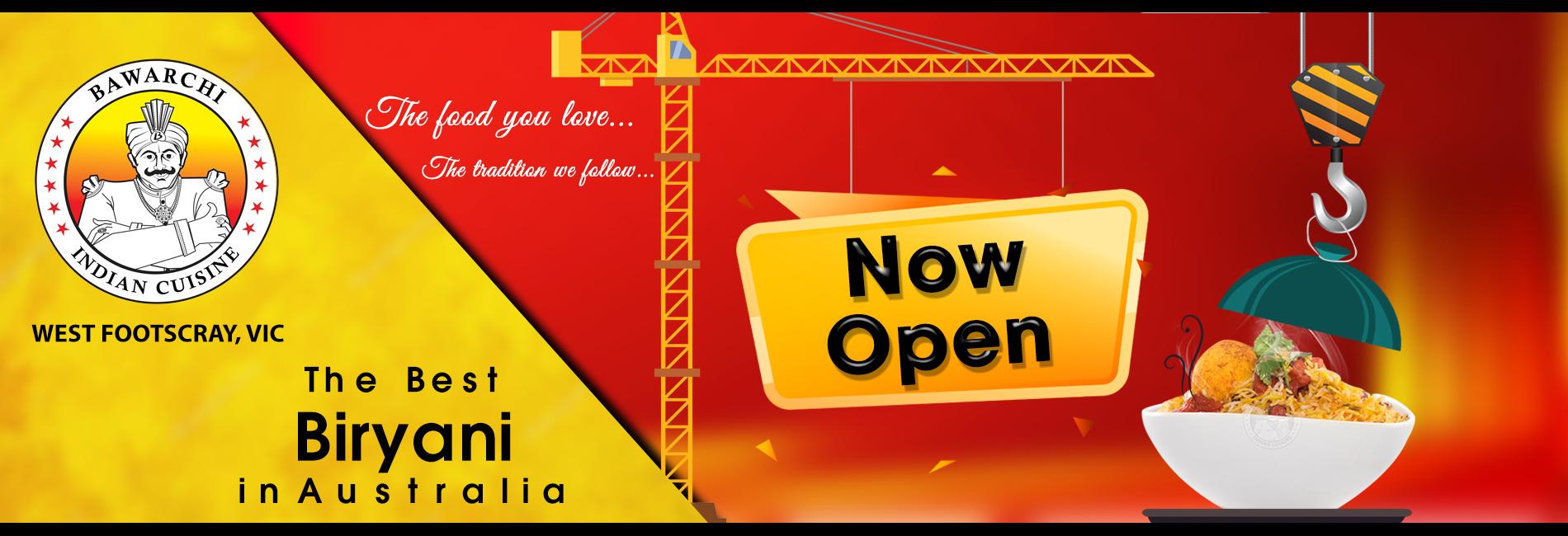 Bawarchi Melbourne - Now Open