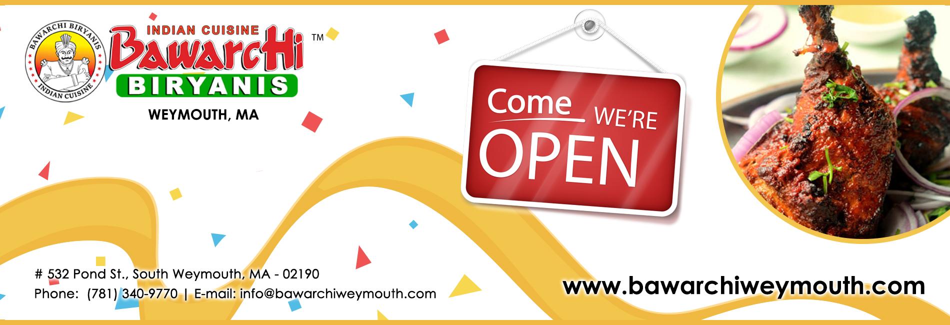 Bawarchi Losangeles, CA - Open Soon