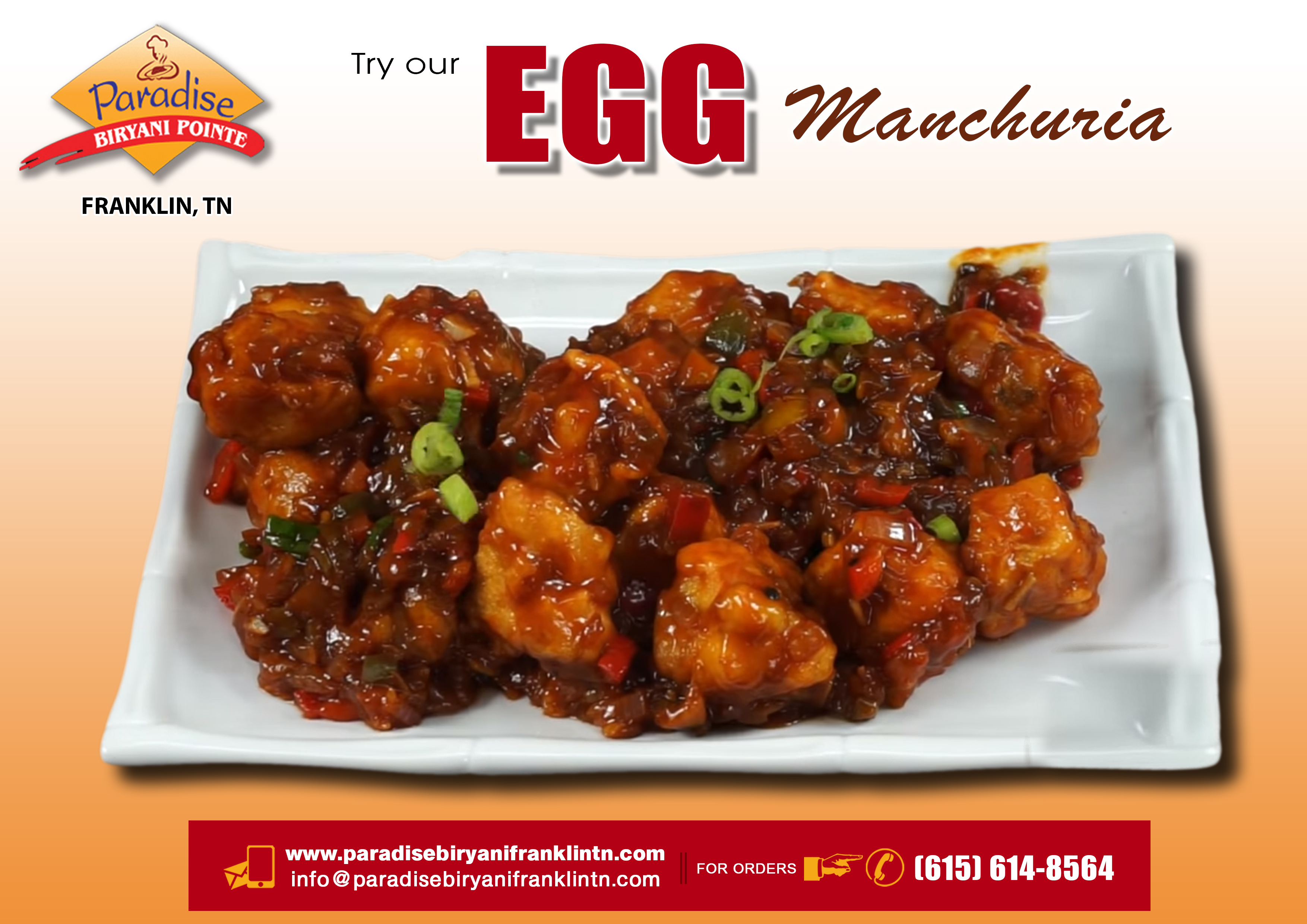 Egg Manchuria