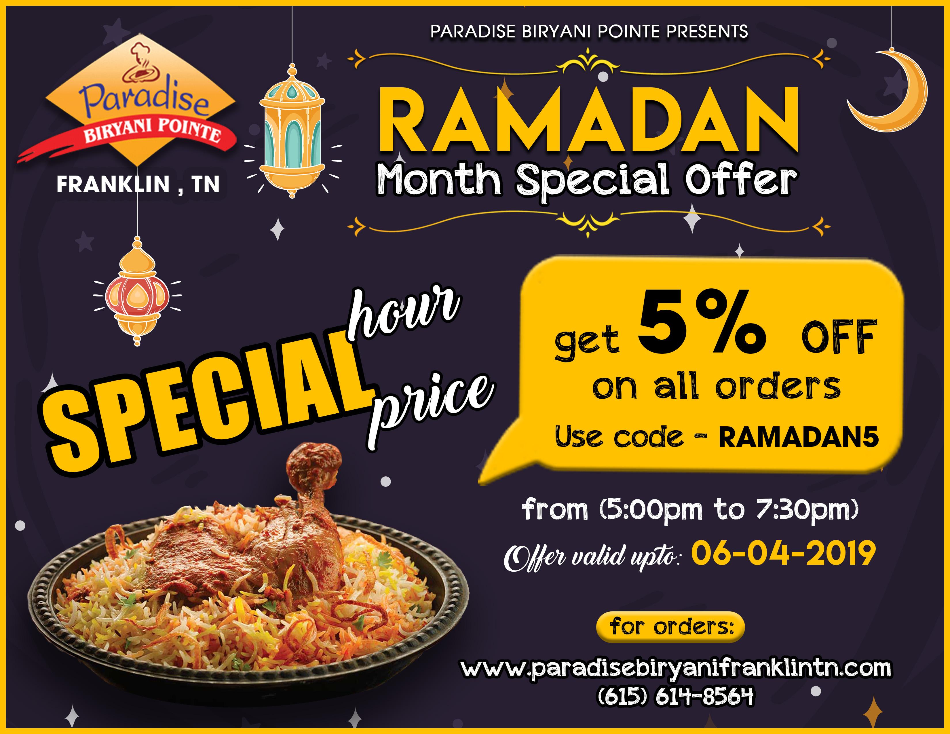 Ramadan special