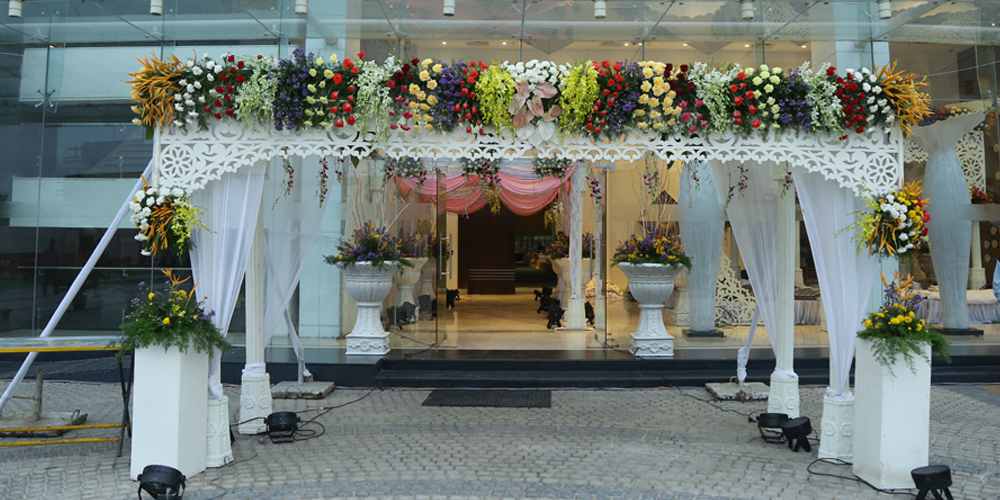 Entrance Decoration
