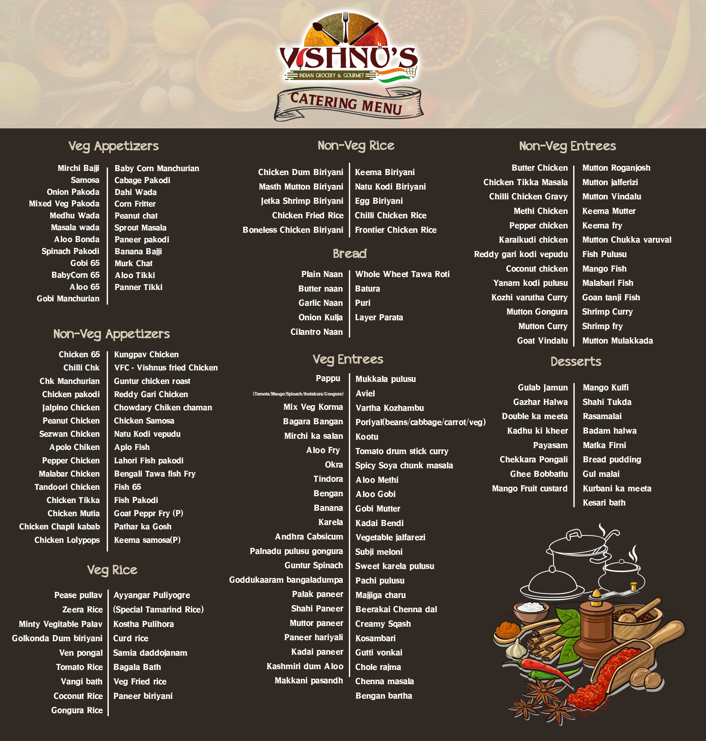 Vishnu Foods- Brookfield, Wisconsin