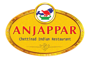 Anjappar Chettinad Indian Restaurant Logo